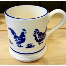 1/2pt Mug Blue Hen Emma Bridgewater