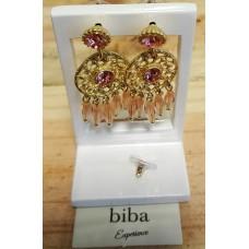 Biba Ibiza Oorhangers licht roze