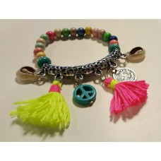 Ibiza Armband Multi Colour Schelp