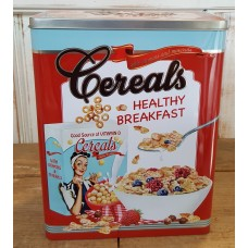 Retro Cereals blik