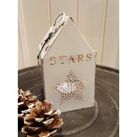 Long Island Living Lantern House Stars White