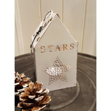 Long Island Living Lantern House Stars White