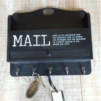Mailbox hangend Riverdale Zwart