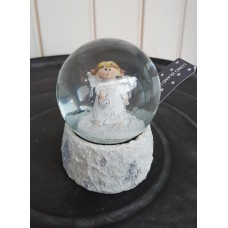 Long Island Living Snowglobe Angel Heart M
