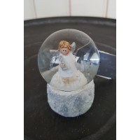 Snowglobe Long Island Living Angel/Tree