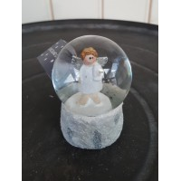 Long Island Living Snowglobe Angel/Gift S