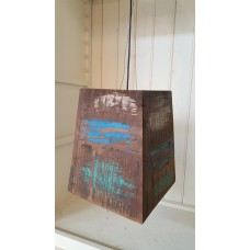 Houten hanglamp Hoogendam Interiors