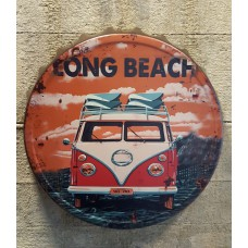VW Long Beach Metalen kroonkurk  3D