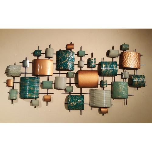 metalen wanddecoratie frame art