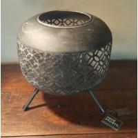 Home Society Globe Lantern Leah L