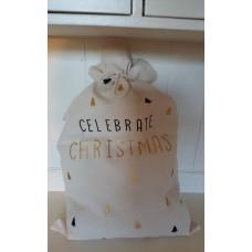 Gift Bag Noel Celebrate Christmas Home Society