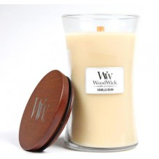 WoodWick® Large Candle Vanilla Bean