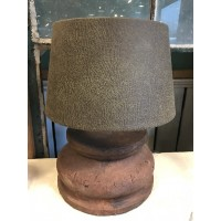 Betonnen lamp, bruin van Light & Living