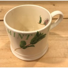 Baby Mug Real Men don't drink Mint Tea Emma Bridgewater