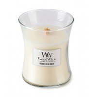 WoodWick® Medium Candle Island Coconut
