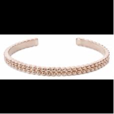 Speechless Jewelry Armband - Bolletjes - Verguld Rosékleurig