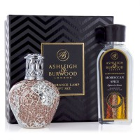 Fragrance Lamp Gift Set Apricot Shimmer & Moroccan Spice Asleigh & Burwood
